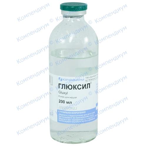 Глюксил р-р 200мл