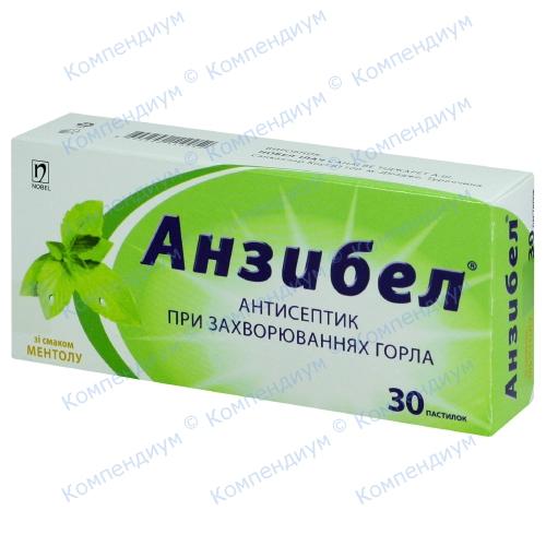 Анзибел паст.ментол №30 фото 1, Aptekar.ua
