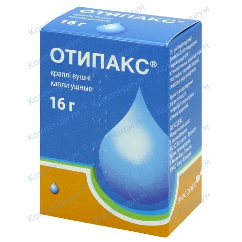 Отипакс вуш.крап. фл. 16г фото 1, Aptekar.ua