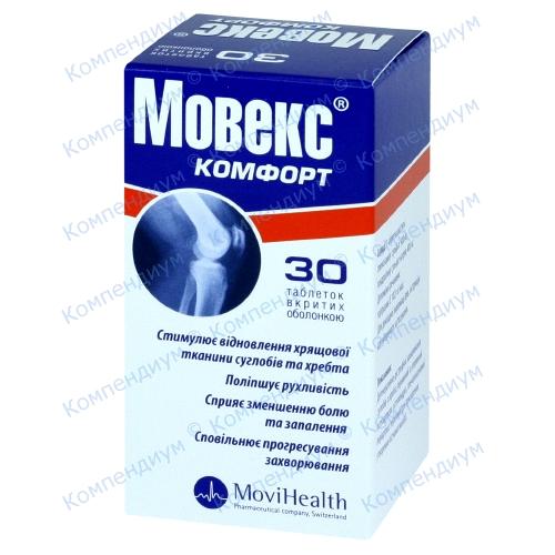 Мовекс комфорт таб.п/о №30