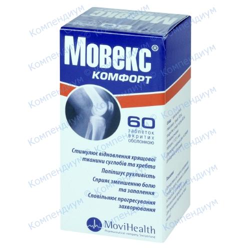 Мовекс комфорт таб.п/о №60