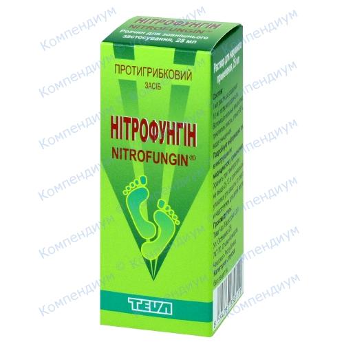 Нитрофунгин р-р фл.25мл