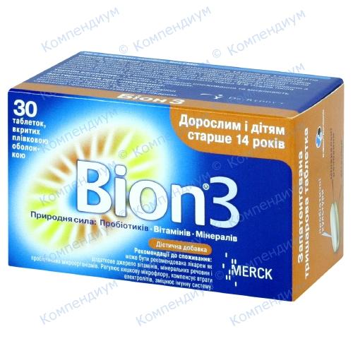 Бион 3 таб.№30