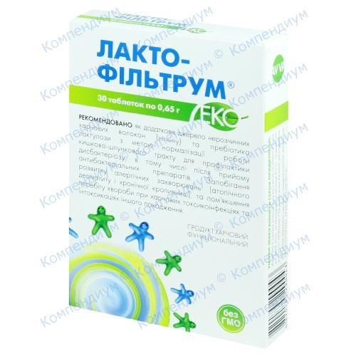 Лактофильтрум-Эко таб. №30
