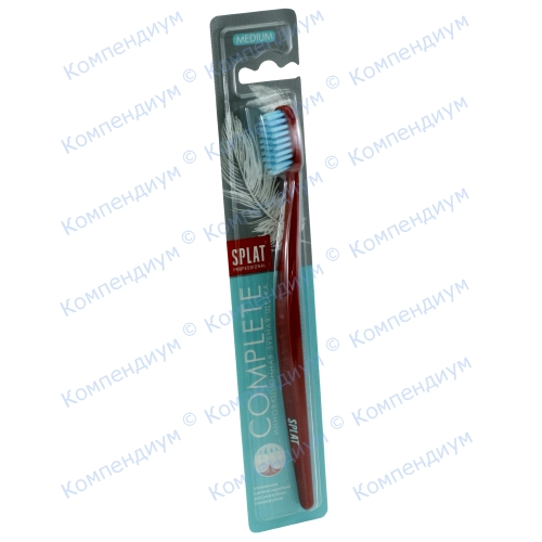 Splat зубна щітка Complete Medium середня фото 1, Aptekar.ua