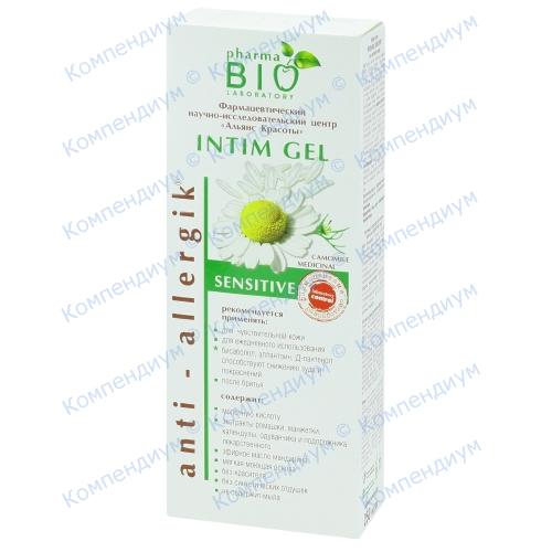 Bio Pharma Гель для интимной гигиены Sensitive 250 мл