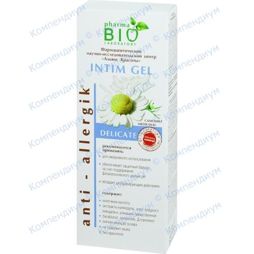 Bio Pharma Гель для интимной гигиены Delicate 250 мл