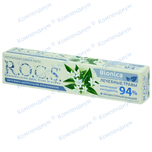 ROCS зубна паста Біоніка Отбеливающая 74г фото 1, Aptekar.ua