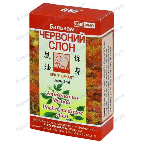 Красный слон жидкий ароматический жидкость фл. 3 мл №1