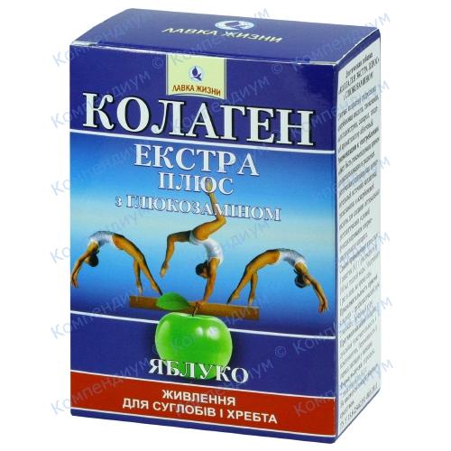 Колаген екстра плюс пор.глюкозамін 8г №7 фото 1, Aptekar.ua