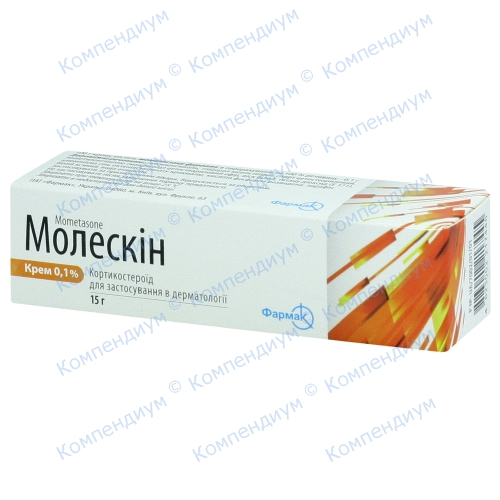 Молескін крем 0,1% туб.15г фото 1, Aptekar.ua