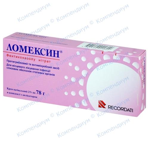 Ломексин крем 2% 78г туба фото 1, Aptekar.ua