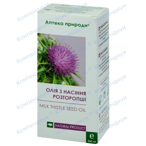 Апт.прир.Масло семян расторопши диет.д.фл.200мл