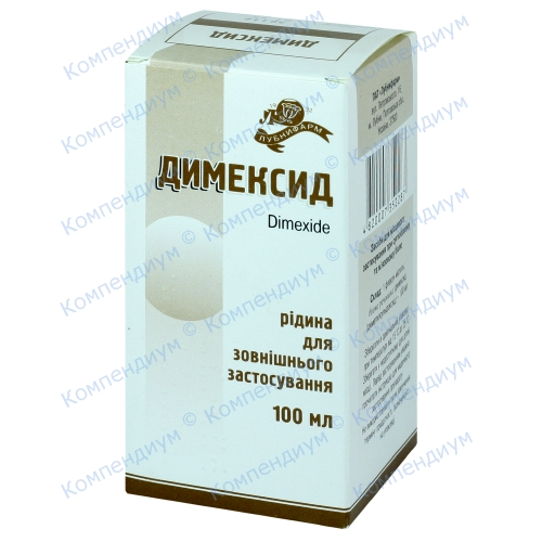 Димексид фл.100мл фото 1, Aptekar.ua