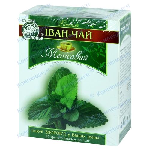 Фиточай Иван-чай мелис.1,5 г №20 фото 1, Aptekar.ua