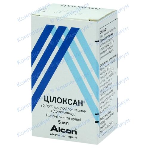 Цилоксан гл/уш.кап.0,35%фл.5мл