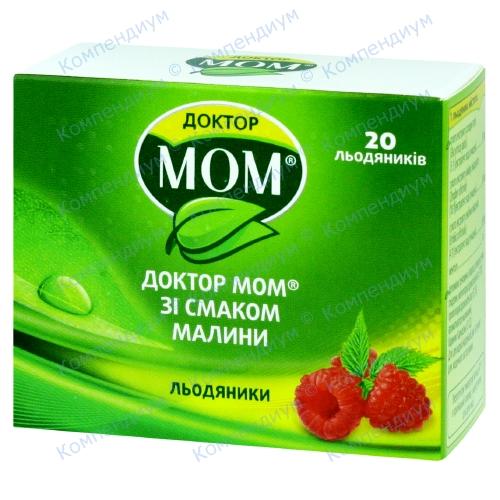 Доктор Мом росл.паст.№20 Малина фото 1, Aptekar.ua