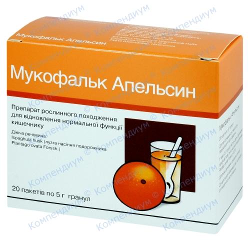 Мукофальк Апельсин пор.пак.5г №20