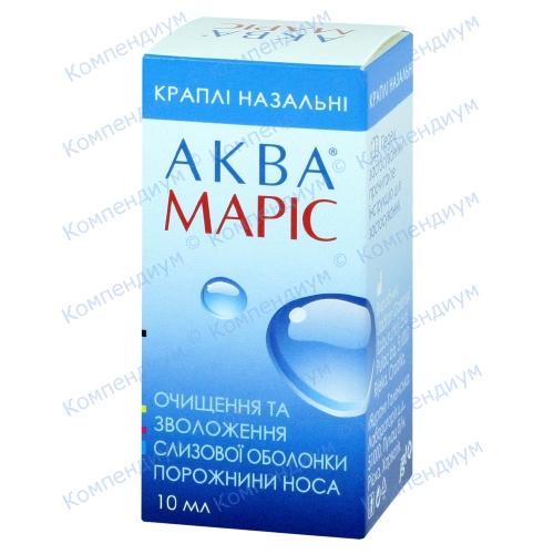 Аква Маріс наз.крап.дит. фл. 10мл фото 1, Aptekar.ua