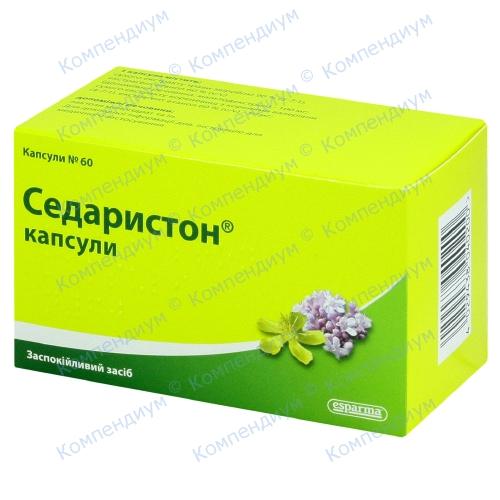 Седаристон капс.№60 фото 1, Aptekar.ua