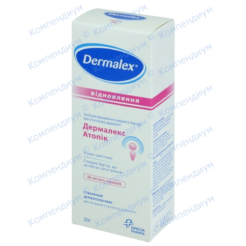 Дермалекс Atopic Eczema крем 30г