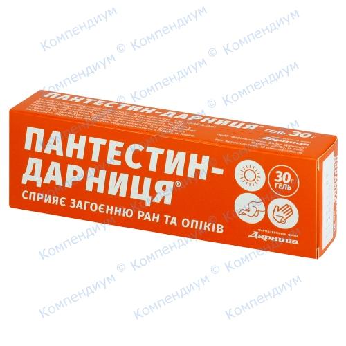 Пантестин-Д гель туб.30г фото 1, Aptekar.ua