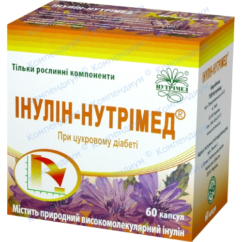 Инулин-Нутримед капс. 60 шт