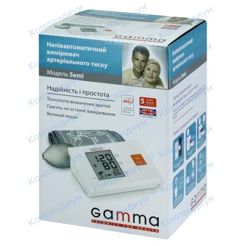 Тонометр Gamma Semi полуавт.