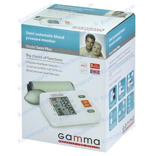 Тонометр Gamma Semi Plus полуавт.