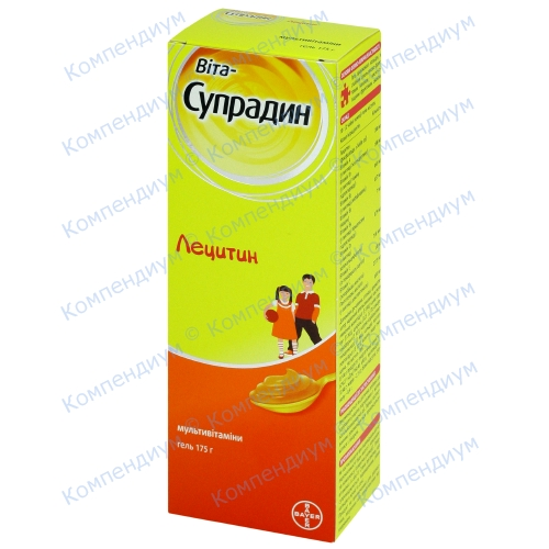 Вита-Супрадин Лецитин гель175г