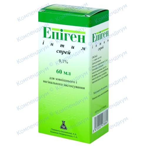 Эпиген ин.спрей 0,1%фл.60мл
