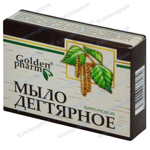 Дегтярное мыло 70 г фото 1, Aptekar.ua
