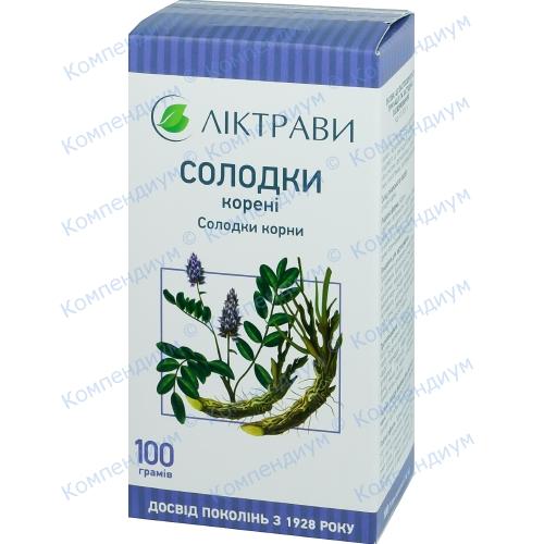 Солодки корені пач.100г фото 1, Aptekar.ua