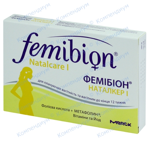 Фемибион Наталкер 1 табл.№30