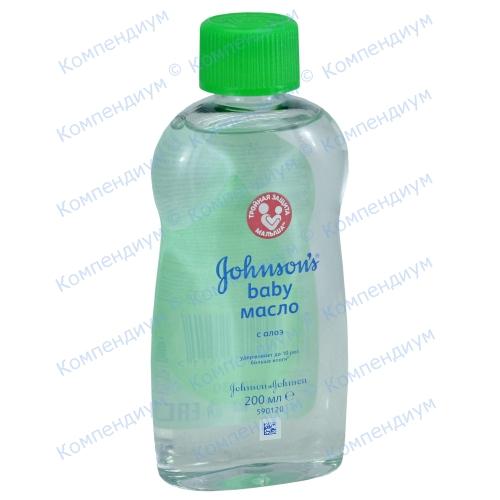 Johnsons Baby Масло детск.200мл алоэ фото 1, Aptekar.ua