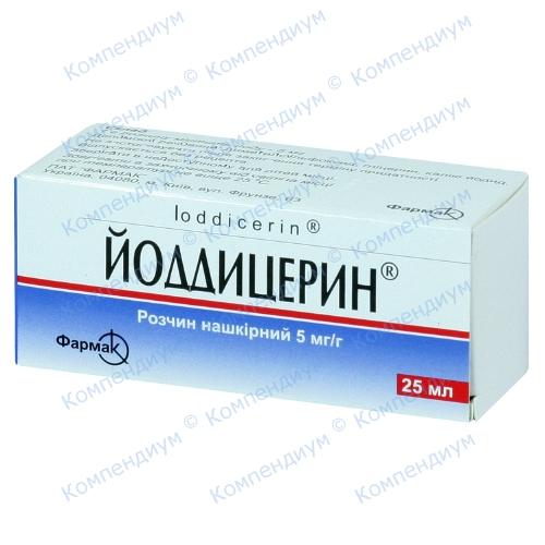 Йоддицерин р-р фл 25мл