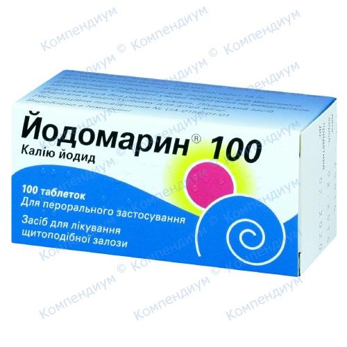 Йодомарин таб.100мкг №100