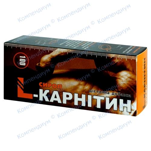 L-Карнитин сироп бад. 100мл