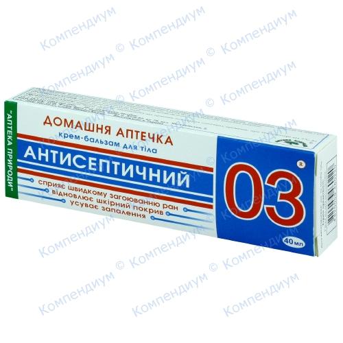 Домашняя аптечка 03 крем-бальзам для тела (антисептич.) 40 мл