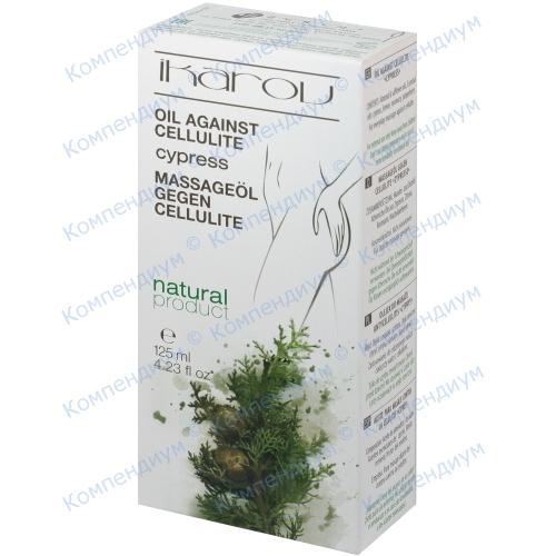 Ikarov олія масажна проти целюліту Кипарис 125мл фото 1, Aptekar.ua