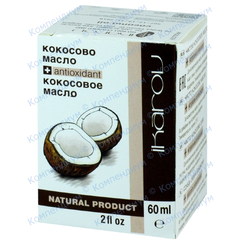 Ikarov олія кокосова 60мл фото 1, Aptekar.ua