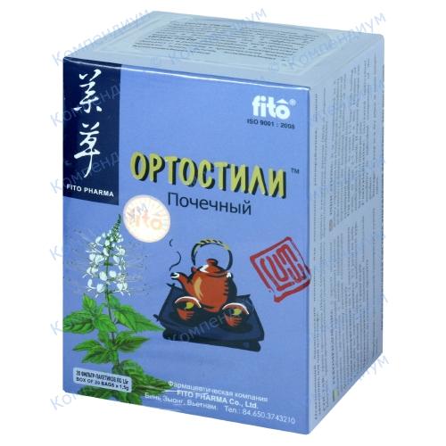 Фито Ортостили чай пакетик 1,5 г №20