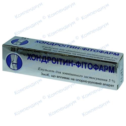 Хондроитин-ф.эмульгель 5% 25г