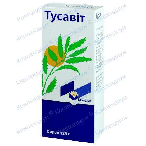 Тусавит сироп 125г фото 1, Aptekar.ua